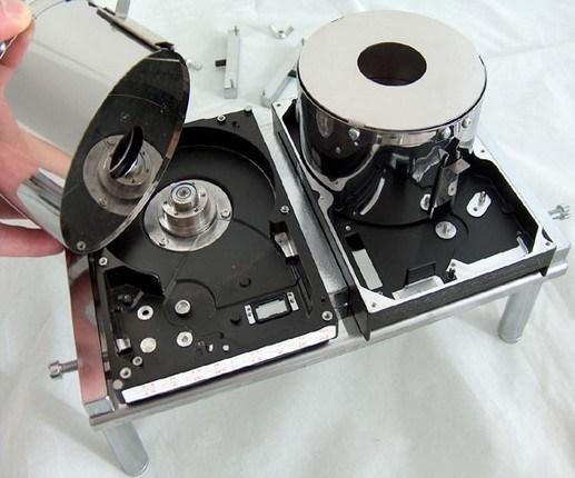 علائم سوختن هارد دیسک